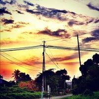 Photo taken at Jalan Khalidi, Muar by ⚔Syazwan KяB™⚔ on 6/19/2012
