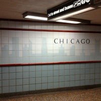 Photo taken at CTA - Chicago (Red) by Byron O. on 4/10/2012