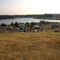 Photo taken at Kid's Cove at Mount Trashmore Park by Brandon H. on 7/4/2012