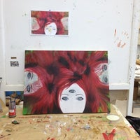 Photo taken at Art Barn by Gabriella D. on 4/24/2012