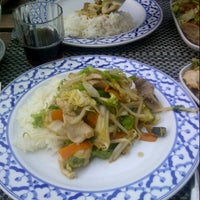 Photo taken at Tasty Thai Express by Angela S. on 8/13/2012