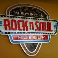 Photo taken at Rock'n'Soul Museum by Andy S. on 2/19/2012