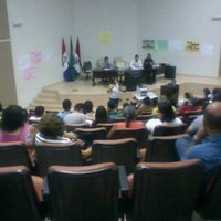 Photo taken at Auditorio da Reitoria by Ronald R. on 7/19/2012