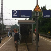 Photo taken at Aachen West Station by Nan X. on 7/28/2012