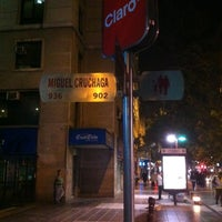 Photo taken at Paseo Miguel Cruchaga by Pablo R. on 4/25/2012