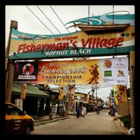 Photo taken at Fisherman's Village Walking Street by Boboz Luca P. on 8/25/2012