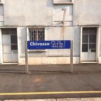 Photo taken at Stazione Chivasso by Rob G. on 7/14/2012