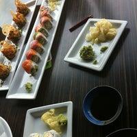 Photo taken at RA Sushi by Ben A. on 4/26/2012