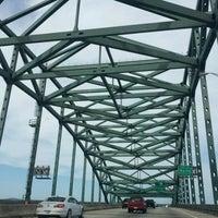 Photo taken at Piscataqua River Bridge by Chris C. on 6/30/2012