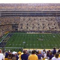 Photo taken at Tiger Stadium by Tatyana K. on 9/9/2012