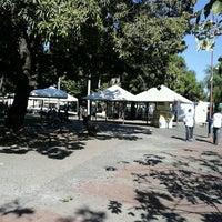 Photo taken at Praca Santos Dumont by Renato C. on 7/15/2012