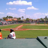 Photo taken at Ed Smith Stadium by Chris K. on 3/7/2012