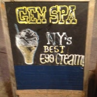 Photo taken at Gem Spa by Logan K. Y. on 2/25/2012