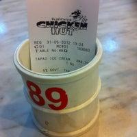 Photo taken at Rafflesia Chicken Hut by Matahati W. on 5/31/2012
