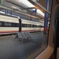 Photo taken at RENFE Estació Lleida - Pirineus by Marta T. on 8/20/2012