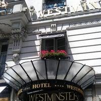 Photo taken at Hôtel Westminster by Punk I. on 6/25/2012