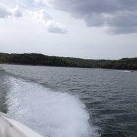 Photo taken at Tablerock Lake by Kelly H. on 7/30/2012