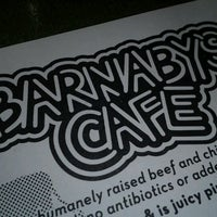 Photo taken at Barnaby's Cafe by Jaehne D. on 3/9/2012