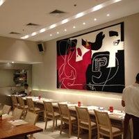 Photo taken at Aria Cucina Italiana by Ariel R. on 2/4/2012