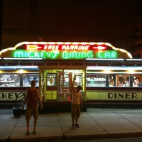 Photo taken at Mickey's Diner by Josh P. on 7/4/2012