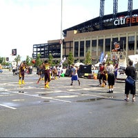 Photo taken at Citi Field Parking Lot by Erika Star on 8/18/2012