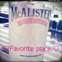Photo taken at McAlister's Deli by Gaby C. on 6/9/2012