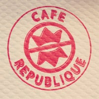 Photo taken at Café République by Gemma K. on 8/13/2012