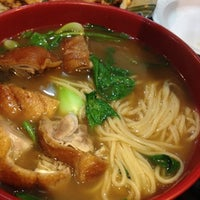 Photo taken at Tasty Hand-Pulled Noodles Inc. 清味蘭州拉麵 by Donna C. on 4/4/2012