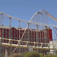 Photo taken at The Desperado Roller Coaster by Kevin S. on 6/1/2012