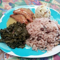 Photo taken at Mama Jamaica's Kitchen by Jim N. on 7/10/2012