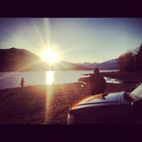 Photo taken at Lake Wanaka by Shane A. on 9/1/2012