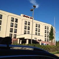 Photo taken at Hampton Carlstadt/nj by Alan P. on 9/11/2012