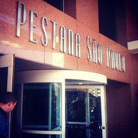 Photo taken at Pestana São Paulo Hotel by Thiago P. on 8/8/2012
