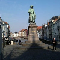 Photo taken at Jan Van Eyck Plein by Ioannis G. on 4/2/2012