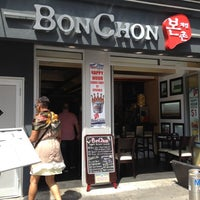 Photo taken at BonChon by Derrick J. on 8/24/2012