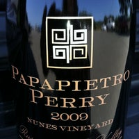 Photo taken at Papapietro Perry Winery by Melyna H. on 4/28/2012
