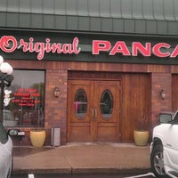 Photo taken at Original Pancake House Edina by Sean O. on 4/28/2012