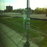 Photo taken at Eglinton GO Station by Jason F. on 4/28/2012