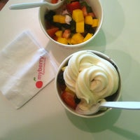Photo taken at MyBerry Frozen Yogurt by Brent G. on 6/10/2012
