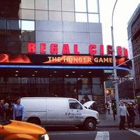 Photo taken at Regal Cinemas Union Square 14 by Lasse K. on 5/25/2012