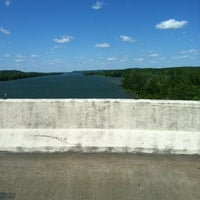 Photo taken at Tennessee River Bridge by Jim G. on 4/23/2012