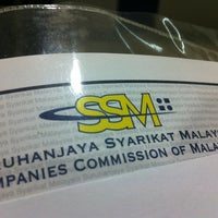 Photo taken at Suruhanjaya Syarikat Malaysia by Ray C. on 4/19/2012