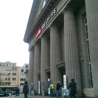 Photo taken at Bahnhof Biel / Gare de Bienne by Andrea B. on 4/7/2012