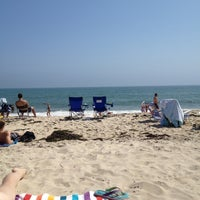 Photo taken at Ponquogue Beach by Shannon S. on 8/4/2012