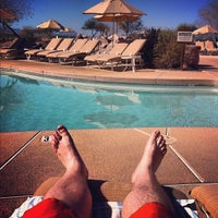 Photo taken at Sheraton Wild Horse Pass Resort & Spa by Kevin G. on 2/11/2012
