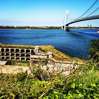 Photo taken at Fort Wadsworth by Josh P. on 5/6/2012