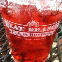 Photo taken at Flat Branch Pub & Brewing by Liz O. on 5/27/2012