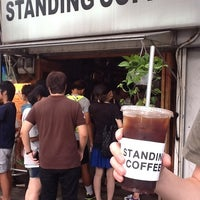Photo taken at STANDING COFFEE by relier S. on 8/25/2012