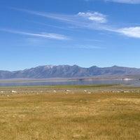 Photo taken at Crowley Lake by Loretta A. on 8/3/2012