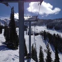 Photo taken at Crested Butte Mountain Resort by Anthony V. on 3/7/2012